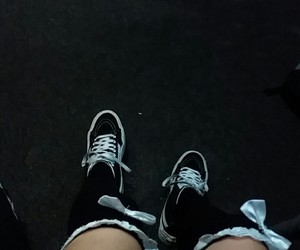 dark, socks, and bland image