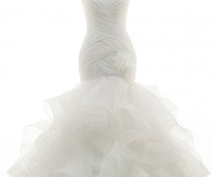 organza, sweetheart, and wedding gowns image