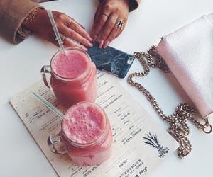 drinks, fashion, and girl image