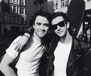 matty healy, jamie blackley, and the 1975 image