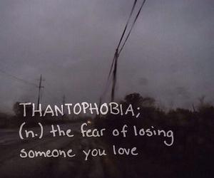 fear, love, and thantophobia image