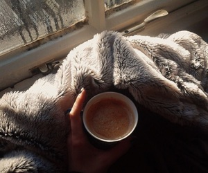 autumn, coffe, and cozy image
