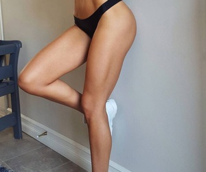 beautiful, fitness, and girl image
