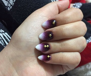gold, new, and nails image