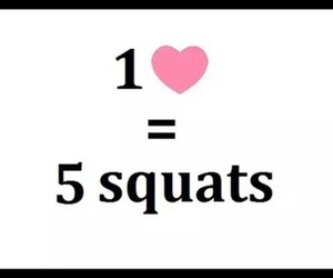 squats, heart, and fitness image