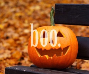 boo, fall, and fun image