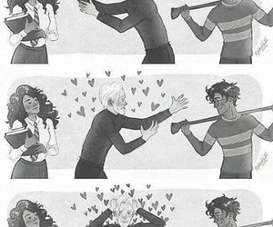 ships, love, and dramione image