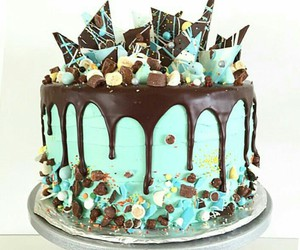 cake, chocolate, and postres image