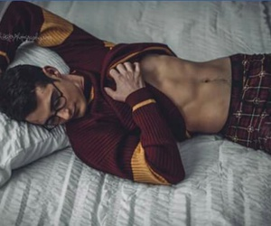 abs, gryffindor, and handsome image