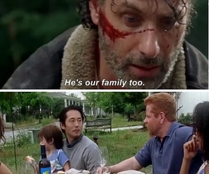 Abraham, the walking dead, and daryl dixon image