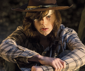 carl, twd, and carl grimes image