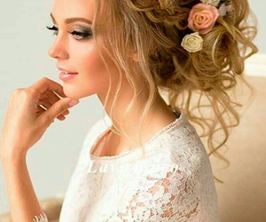 blonde, braid, and hair image