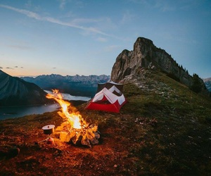 travel, beautiful, and camp image