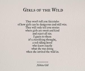 girl, quotes, and nikita gill image