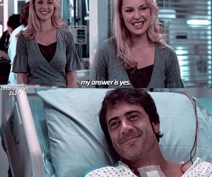 grey's anatomy, denny duquette, and love image
