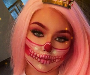Halloween, pink hair, and tumblr image