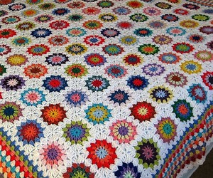 crochet patterns, granny square patterns, and granny square designs image