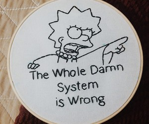 simpsons, system, and lisa simpson image