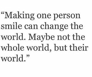 change, quote, and smile image