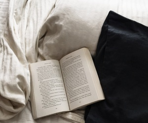 blanket, book, and cool image