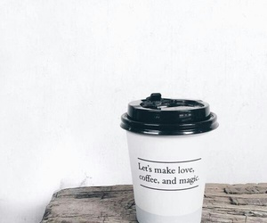 coffee, magic, and quotes image