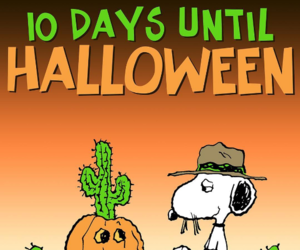 snoopy, Halloween, and the peanuts image