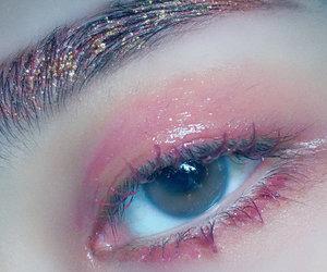 korean and makeup image