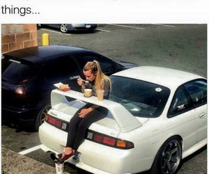 funny, car, and food image