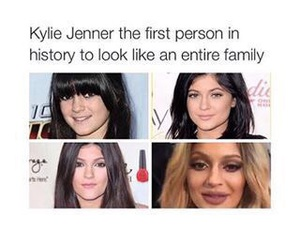 funny, kylie jenner, and lol image