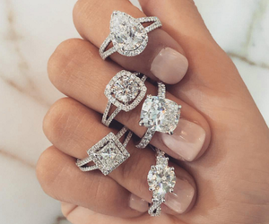 luxury, nails, and accessories image
