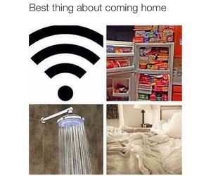 home, wifi, and food image
