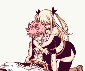 nalu, fairy tail, and manga image