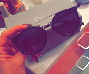 black, dior, and gift image