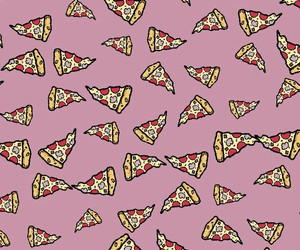 pizza, wallpaper, and wallpapers image