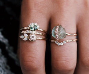 jewelry, jewels, and rings image
