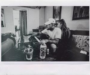 couple, cute couple, and polaroid image