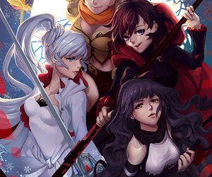 rwby and anime image