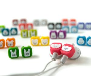 cute and headphones image