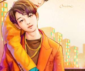 fan art, kpop, and Onew image