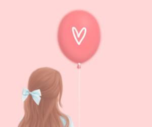 art, pink, and beautiful image