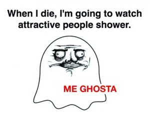 funny, ghost, and me ghosta image