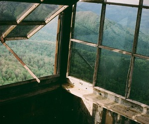 nature, window, and vintage image