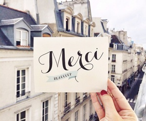 paris, france, and merci image