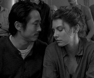 glenn, Maggie, and twd image