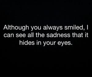 black, eyes, and sad image