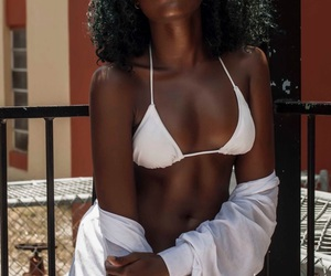beauty, curly, and girl image