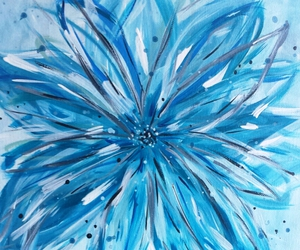blue, mix, and paint image