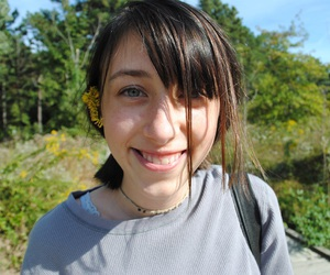black hair, girl, and summer image