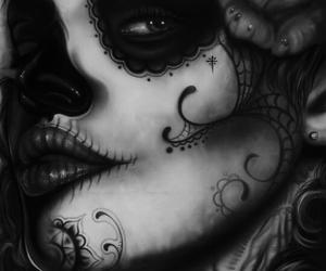 dia de los muertos, la catrina, and catrina image
