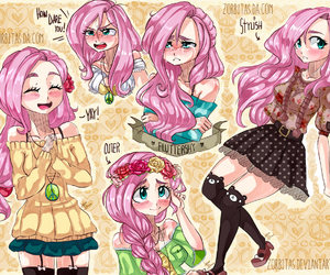 fluttershy and my little pony image